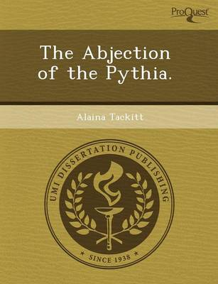 The Abjection of the Pythia (Paperback)