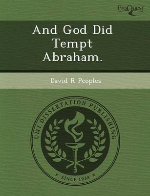 And God Did Tempt Abraham (Paperback)