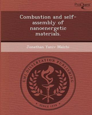 Combustion and Self-Assembly of Nanoenergetic Materials (Paperback)