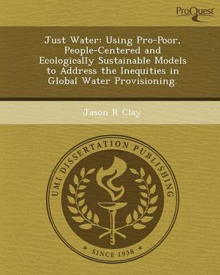 Just Water: Using Pro-Poor (Paperback)