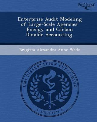 Enterprise Audit Modeling of Large-Scale Agencies' Energy and Carbon Dioxide Accounting (Paperback)