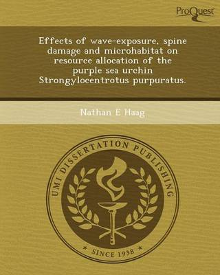 Effects of Wave-Exposure (Paperback)
