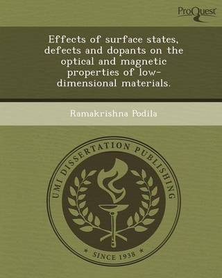 Effects of Surface States (Paperback)