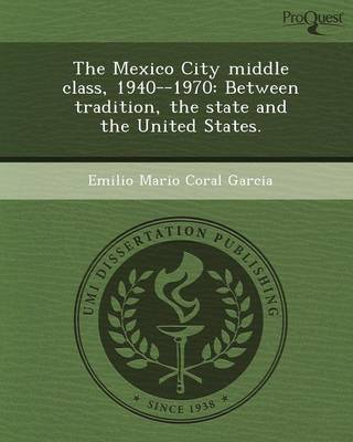 The Mexico City Middle Class (Paperback)