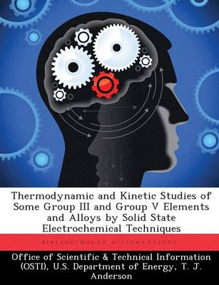 Thermodynamic and Kinetic Studies of Some Group III and Group V Elements and Alloys by Solid State Electrochemical Techniques (Paperback)