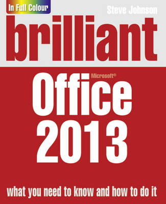Brilliant Office 2013 - Brilliant Computing (Paperback)