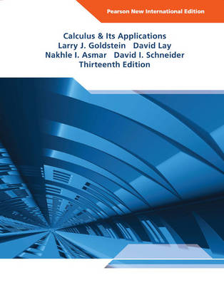 Calculus & Its Applications (Paperback)