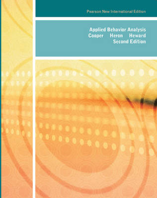 Applied Behavior Analysis (Paperback)