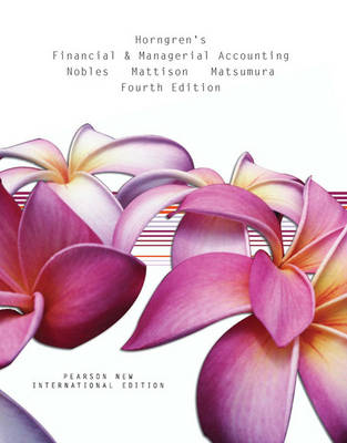 Horngren's Financial & Managerial Accounting (Paperback)