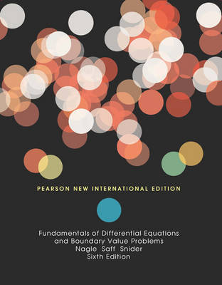 Fundamentals of Differential Equations and Boundary Value Problems (Paperback)