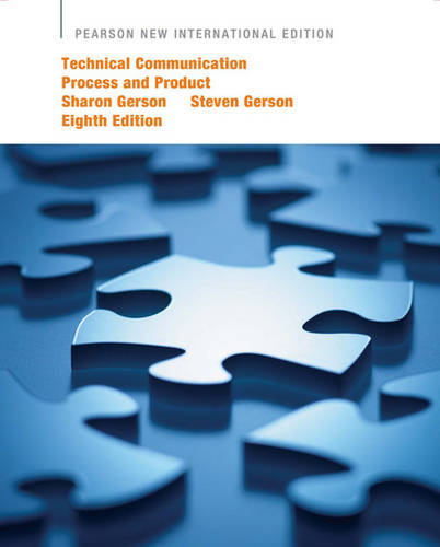 Technical Communication: Process and Product (Paperback)