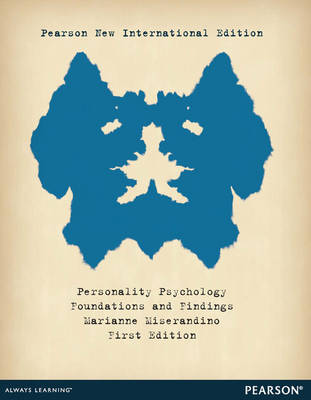 Personality Psychology: Foundations and Findings (Paperback)