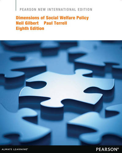 Dimensions of Social Welfare Policy (Paperback)