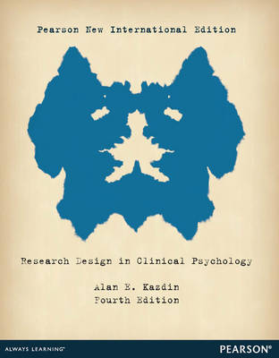 Research Design in Clinical Psychology (Paperback)