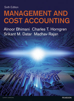 Management and Cost Accounting with MyAccountingLab (Mixed media product)