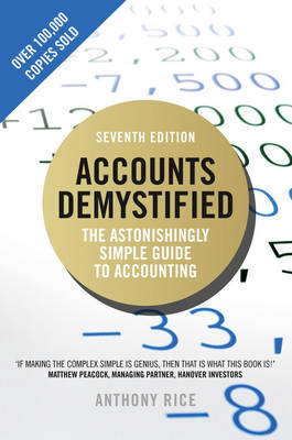 Cover Accounts Demystified: The Astonishingly Simple Guide to Accounting