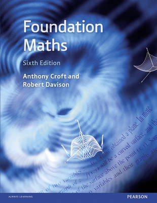 Cover Foundation Maths with MyMathLab Global