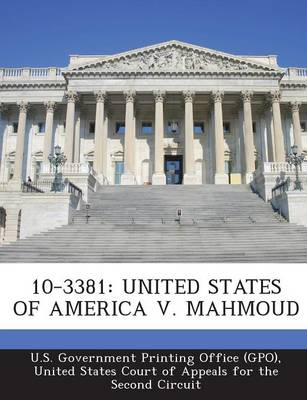10-3381: United States of America V. Mahmoud (Paperback)