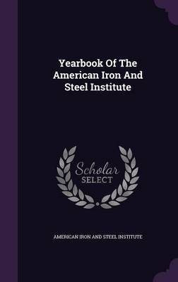 Cover Yearbook of the American Iron and Steel Institute