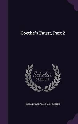 Cover Goethe's Faust, Part 2