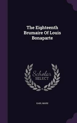 Cover The Eighteenth Brumaire of Louis Bonaparte