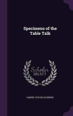 Cover Specimens of the Table Talk