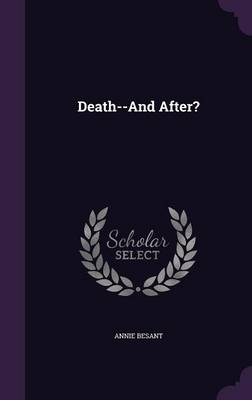 Cover Death--And After?