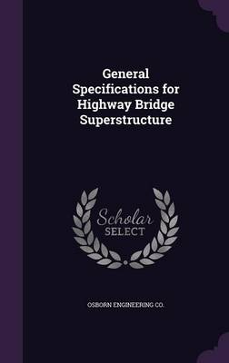 Cover General Specifications for Highway Bridge Superstructure