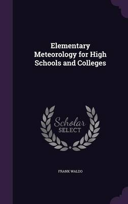 Cover Elementary Meteorology for High Schools and Colleges