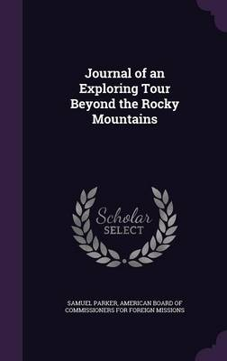 Cover Journal of an Exploring Tour Beyond the Rocky Mountains