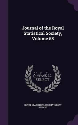Cover Journal of the Royal Statistical Society, Volume 58