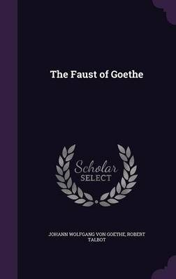 Cover The Faust of Goethe