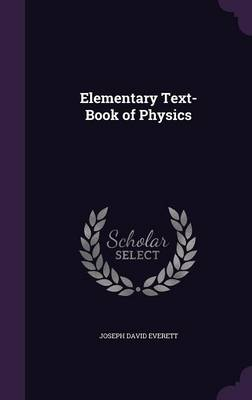 Cover Elementary Text-Book of Physics