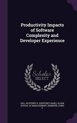 Cover Productivity Impacts of Software Complexity and Developer Experience