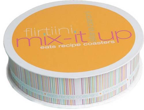 Flirtini Mix-It-Up Eats Recipe Coasters - Potter Style (Other merchandise)