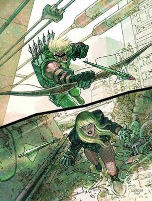 Green Arrow/Black Canary: Big Game (Paperback)