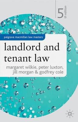 Landlord and Tenant Law - Palgrave Law Masters (Paperback)