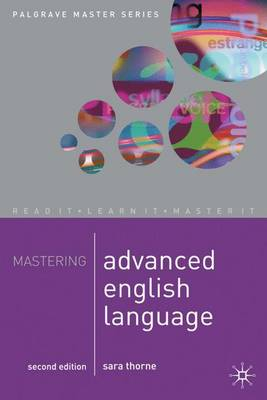 Mastering Advanced English Language - Palgrave Master Series (Paperback)