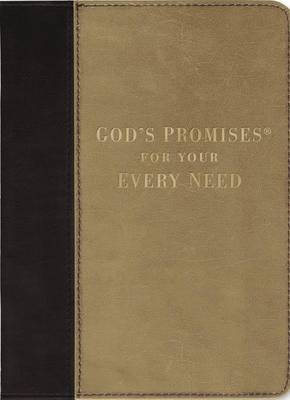 God's Promises for Your Every Need: NKJV (Leather / fine binding)
