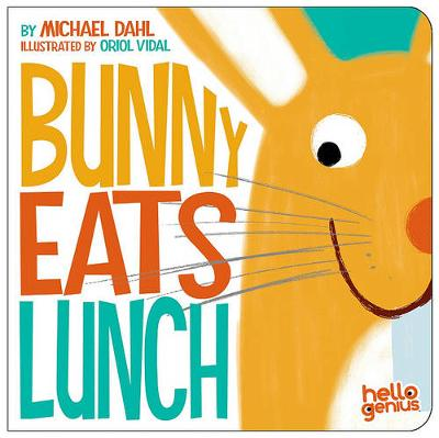 Bunny Eats Lunch - Hello Genius (Board book)