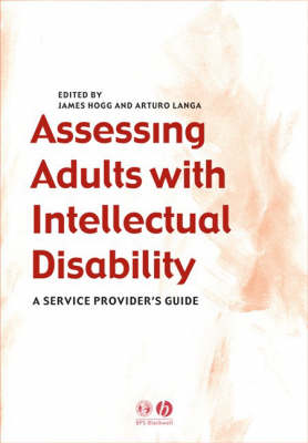 Assessing Adults with Intellectual Disability: A Service Provider's Guide (Paperback)