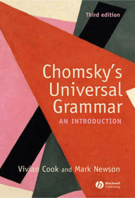 Chomsky's Universal Grammar: An Introduction (Paperback)