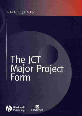 The Jct Major Projects Form (Hardback)