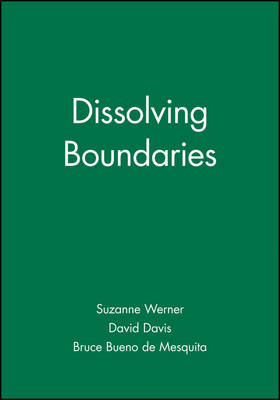 Dissolving Boundaries - International Studies Review Presidential Series (Paperback)