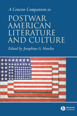 A Concise Companion to Postwar American Literature and Culture - Concise Companions to Literature and Culture (Paperback)