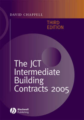 The JCT Intermediate Building Contracts (Hardback)