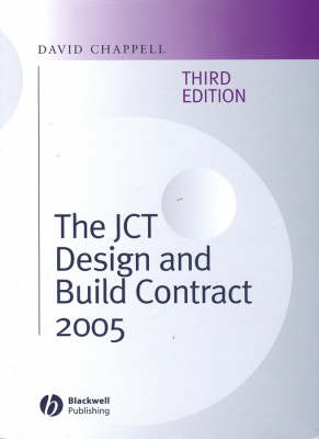 The JCT Design and Build Contract 2005 (Hardback)