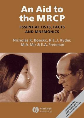 An Aid to the MRCP: Essential Lists, Facts and Mnemonics (Paperback)
