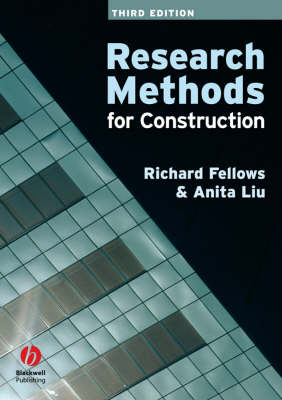 Research Methods for Construction (Paperback)