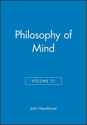 Philosophy of Mind - Philosophical Perspectives Annual Volume (Paperback)
